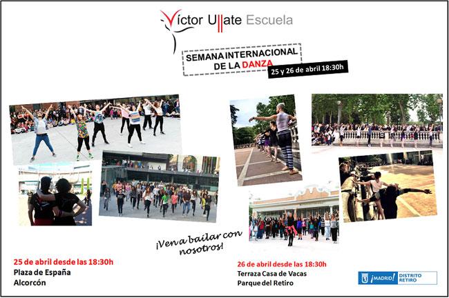 Semana De La Danza Actividades Escuela Víctor Ullate 2018